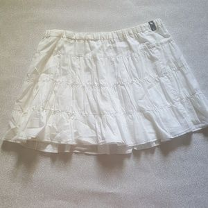Abercrombie and fitch mini skirt size L